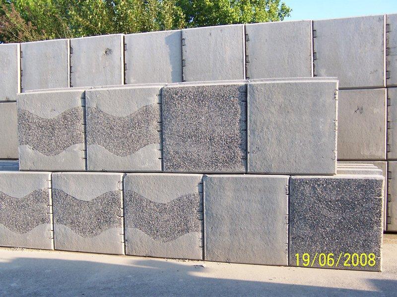 Blocchi Calcestruzzo Per Muri.Muri Di Sostegno Con Geobloc Special Vibro