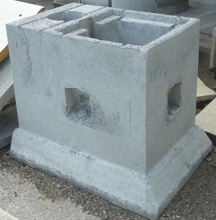 Plinti in cemento