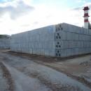 Geobloc - Muri a secco per stoccaggio materiali