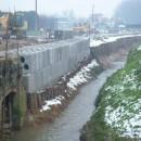 Blocco per frane e alluvioni