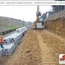 Geobloc – muro a retta a gravità per le ferrovie