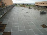 Pavimentazione industriale con piastre 200x200x14