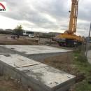 vasche prefabbricate in cemento assemblate